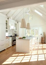 cathedral ceiling kitchen lighting ideas celebrate earth day with gorgeous green homes from around the