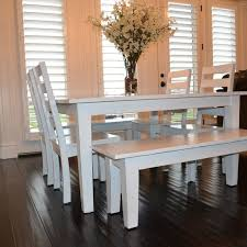 Best Kitchen Table Redo Images On Pinterest Table And Chairs - White and wood kitchen table