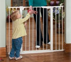 Extra Wide Pressure Fit Safety Gate Extra Tall U0026 Wide Auto Close Gateway