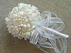 wedding bouquets with seashells how to make a shell bouquet wedding ideas shell