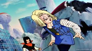 z android 18 z future trunks kills android 17 and 18 720p hd