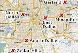 Dallas Area Map Our Story