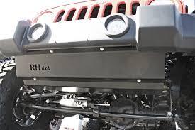rubicon jeep 2018 rock hard 4x4 u0026 8482 front bumper skid plate for plastic x sport
