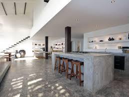 Kitchen Table Top Ideas by Concrete Top Kitchen Table Parsons Concrete Top Elm Base Dining