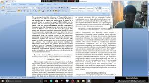 how to write an ieee paper how to write a ieee paper youtube how to write a ieee paper