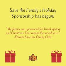 sponsorship 2017 save the family