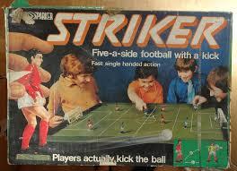 table top football games striker vintage 1970s table top football game cowes wightbay