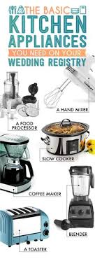 kitchen wedding registry the essential wedding registry list for your kitchen essentials