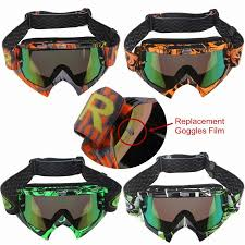 tinted goggles motocross fashion new men women ski goggles scooter atv helmet eyewear velar