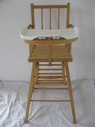 chaise bebe en bois chaise haute en bois pour enfant
