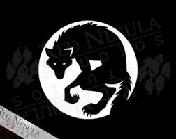 wolf and moon etsy
