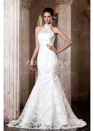 wedding dress high neck neck applique column antique wedding dresses