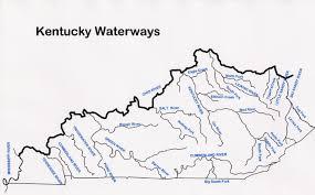 Kentucky rivers images Map of kentucky rivers map jpg