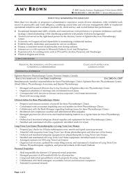 Executive Assistant Sample Resume by 100 Sample Cv For Administrative Assistant Charming