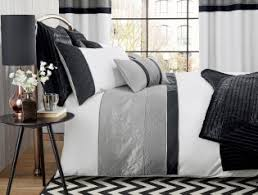 Next Bed Sets Silver Quilted Panel Bed Set From Next Guest Room Ideas