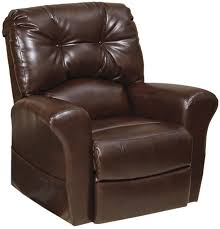 Lift Chair Leather Landon 4852 Recliner With Lift Assist Bonded Leather Chair