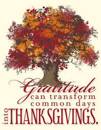 gratitude and thanksgiving healthcare it today