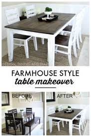 Dining Room Table Chairs Dining Room Table And Chairs Makeover With Annie Sloan Chalk Paint