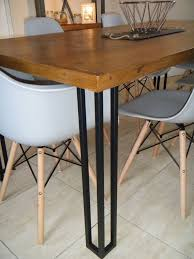 dining room table legs amazing 19 best hairpin legs images on pinterest upcycling dining