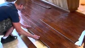 Installing Engineered Hardwood Flooring Floating Wood Floor Dswestell