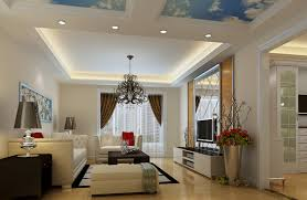 False Ceiling Design For Drawing Room Beauteous Living Room With Modern Drop Ceiling Combined