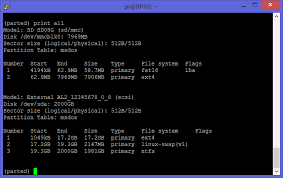 Unsupported Partition Table Raspberry Pi Home Server Part 6 Adding A Hard Drive Melgrubb