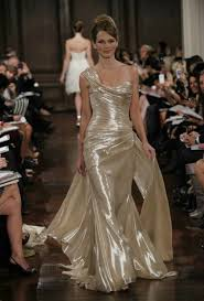 gold wedding dress 11 drop dead gorgeous gold wedding dresses which would you wear