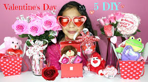 5 valentine u0027s day diy gift ideas youtube