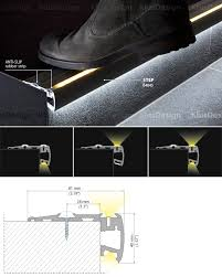 led stair lighting systems stair lights