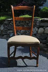 Recovering Dining Chairs Tutorial How To Recover Dining Room Chairs The Chronicles Of Home