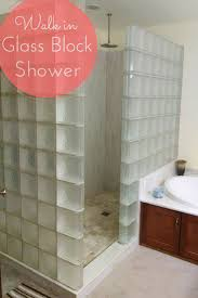best images about bathroom ideas pinterest tile walk glass block showers are easy clean and they get rid cleaning the showerbathroom remodelingremodeling