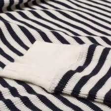 organic waffle stripe crew sweater cream gant rugger