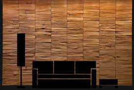 decorative wood panels for walls by klaus wangen split with