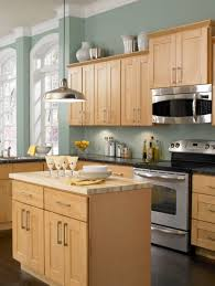 what colour goes with maple cabinets home furniture kitchen design