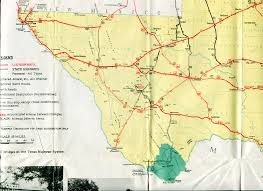 Florida Toll Road Map by Old Highway Maps Of Texas