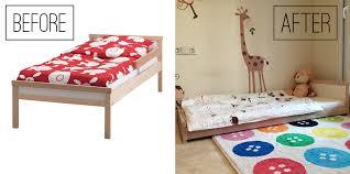 fold away bed ikea the perfect ikea montessori bed la tela di carlotta english