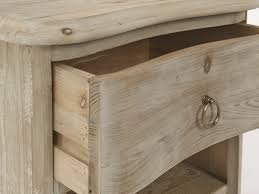table with drawers and shelves avril beached timber bedside table loaf