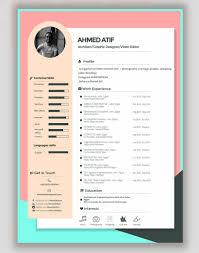 Resume Edit Format Download 35 Free Creative Resume Cv Templates Xdesigns