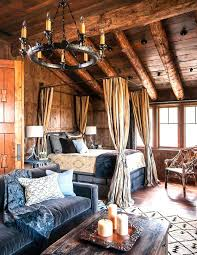 Cabin Bedroom Furniture 21 Cheerful Rustic Bedrooms To Inspire You This Winter