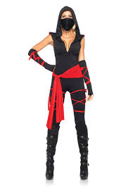 halloween dragon city amazon com leg avenue costumes 5 piece deadly ninja costume clothing