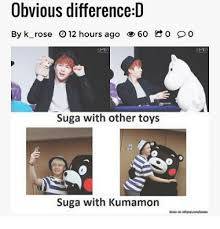 Kumamon Meme - obvious difference d by k rose 012 hours ago 60 o oo suga with other