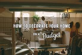How To Decorate Your Home Cheap Home Improvement Ideas How To Decorate Your Home On A Budget