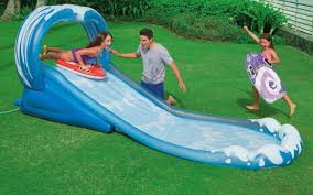 inflatable backyard water slides home design