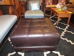 ottoman exquisite stacey leather ottoman from macys brown