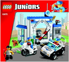 lego city jeep lego police the big escape instructions 10675 junior