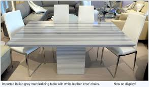 grey marble dining table white marble dining table set fancy design white marble dining