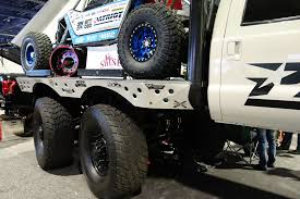 mega truck diesel brothers rad rigs highlighting the baddest diesel trucks at the 2015 sema