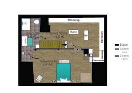 id dressing chambre chambre parentale avec salle de bain et dressing avec id e suite