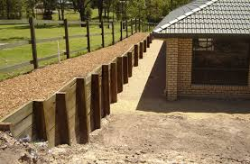 Retaining Wall Drainage Some Ways To Give The Right Drainage For - Timber retaining wall design
