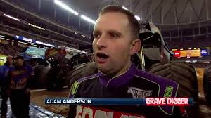 grave digger monster truck schedule adam anderson exclusive interview with grave digger driver in
